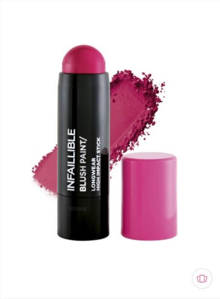 L'Oreal Infallible Blush Paint Stick 03 Fuchsia Fame