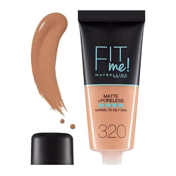 Maybelline Fit Me Matte & Poreless Foundation 320 Natural Tan